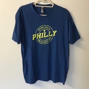 Funny Philly Tee - No One Likes Us - XL